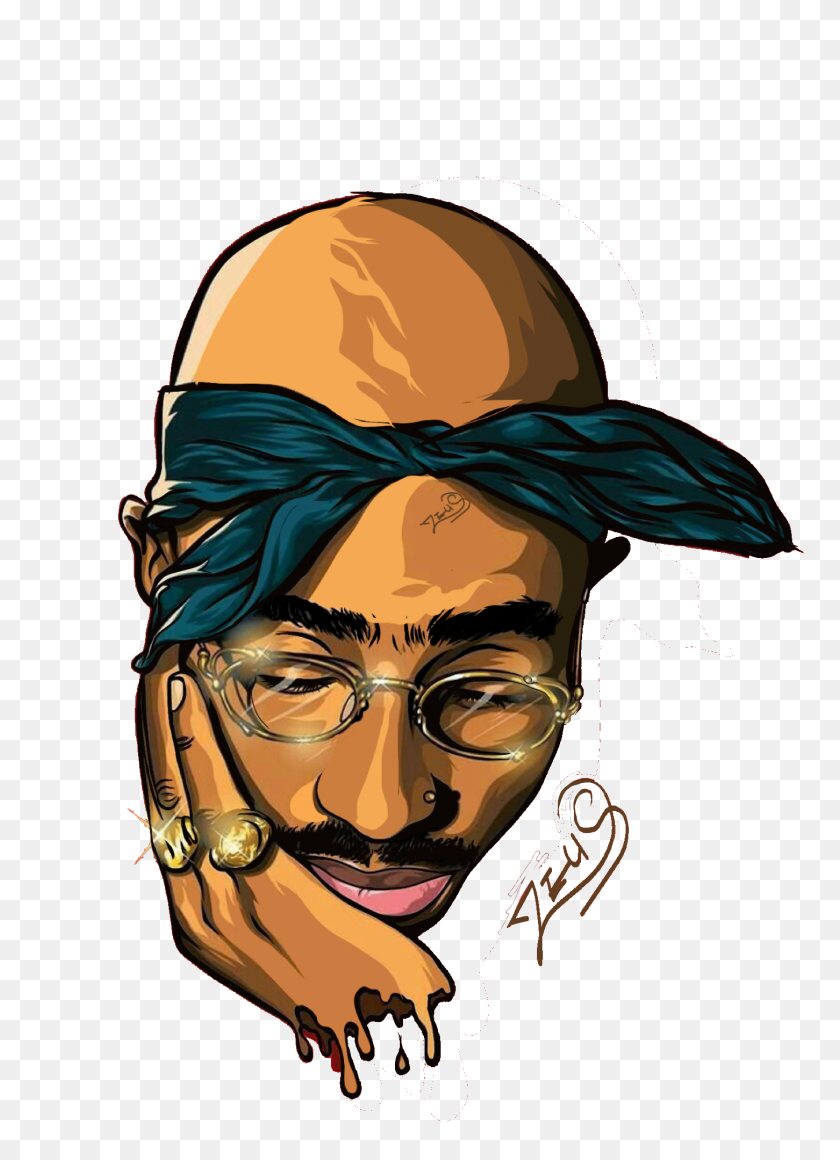 Tupac Shakur Png Image Free Download - Tupac PNG