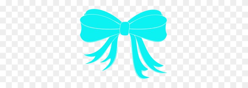 Turquoise Bow Ribbon Clip Art - Ribbon Bow Clipart