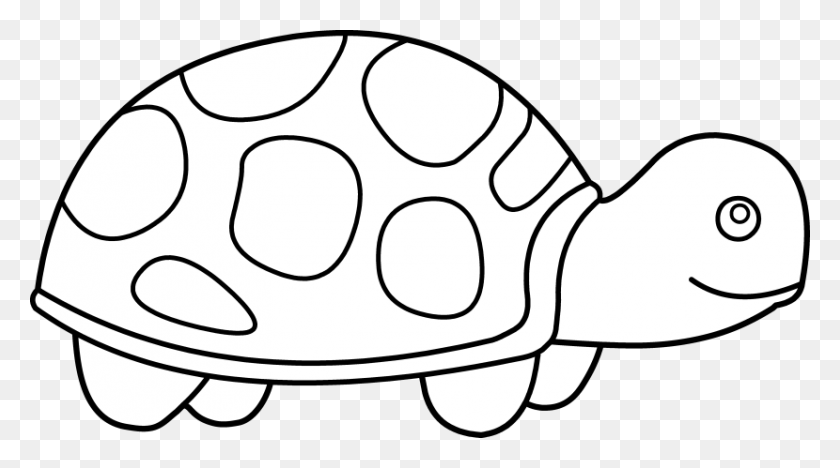Turtle Clipart Black And White - Sea Turtle Clipart Black And White