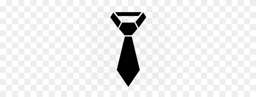 Tuxedo Tie Clipart - Black Tie PNG