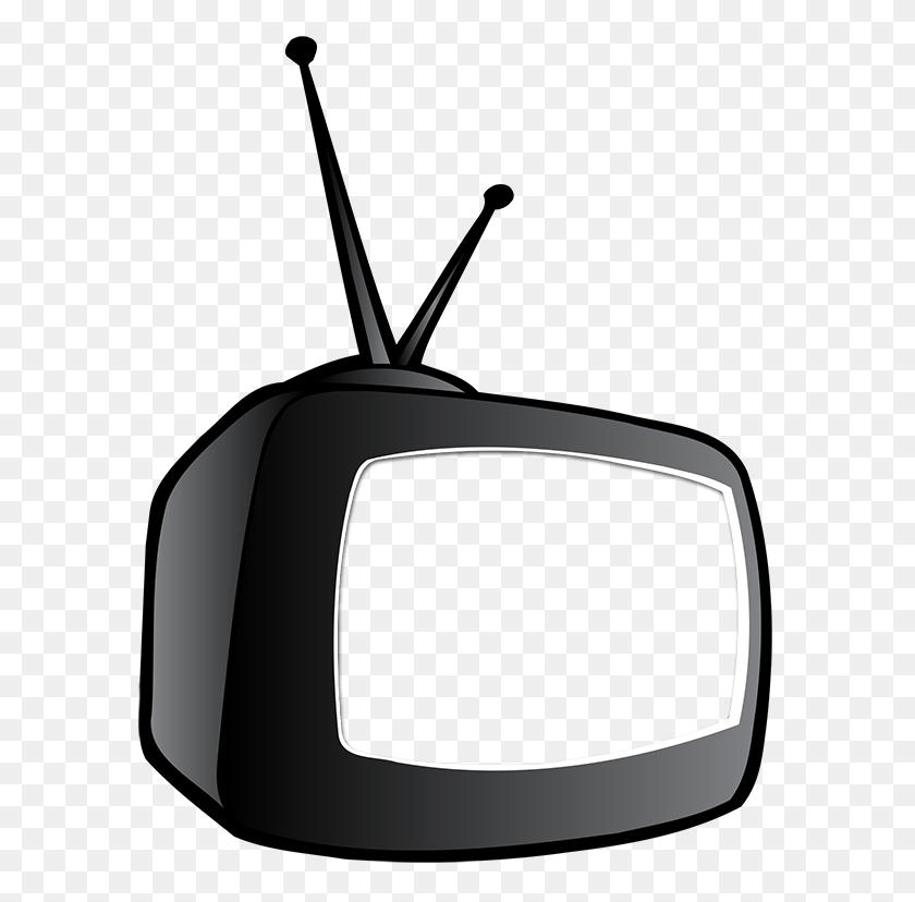 Tv Clipart Cartoon - Tv Clipart Black And White