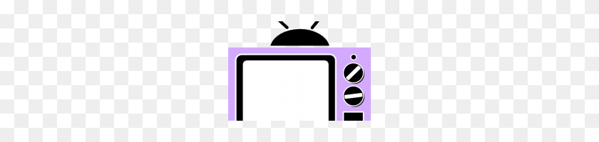 Tv Clipart Old Styled Tv Set Clip Art Free Vector In Open Office - Old Tv Clipart