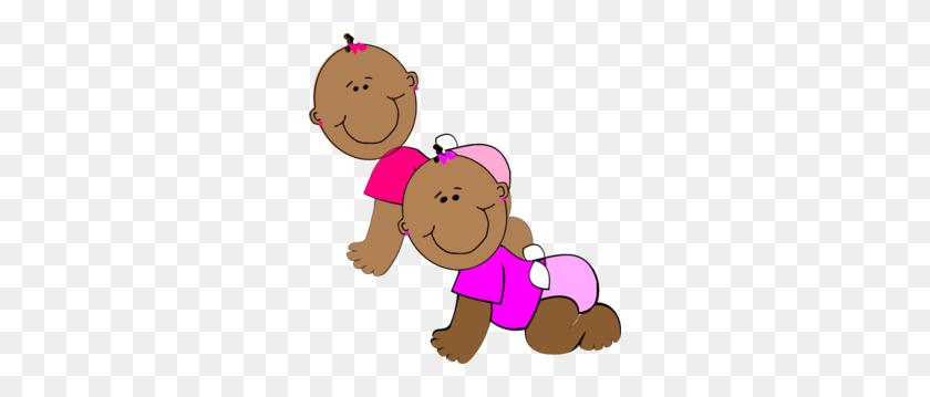Twin Girls Clip Art - Clipart For Girls