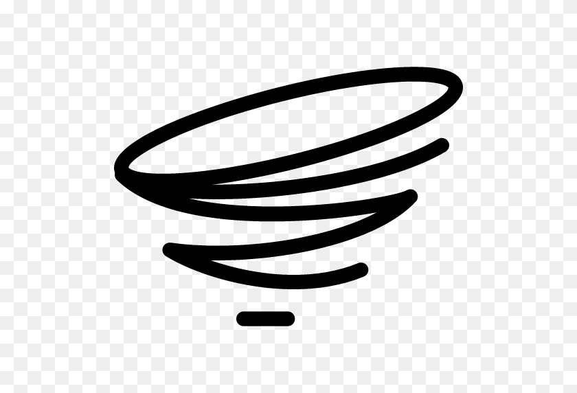 Twister Icon Line Iconset Iconsmind - Tornado Clip Art