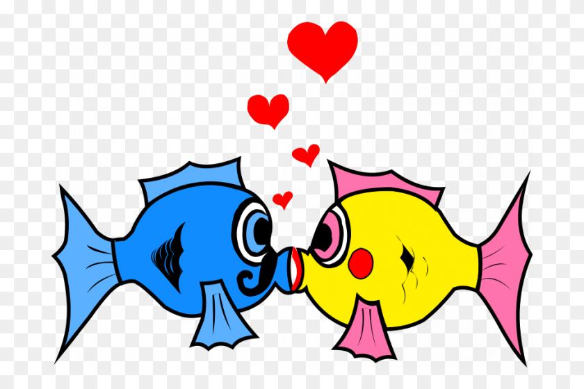 Two Fish Clipart - Dr Seuss Fish Clipart