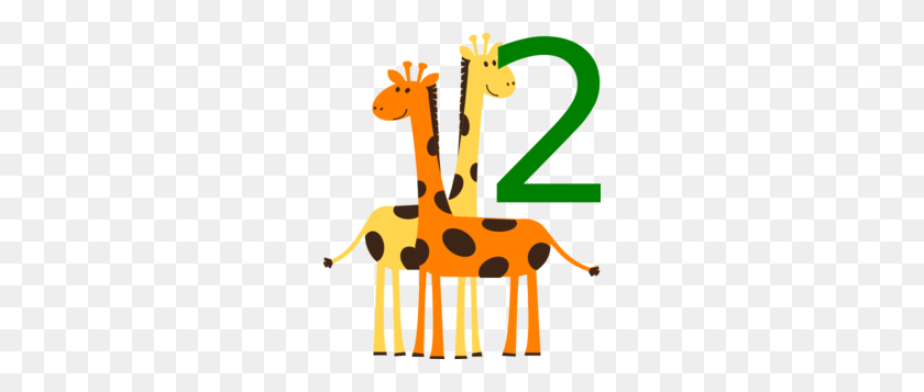 252x297 Two Giraffes Animals Png, Clip Art For Web - Two Girls Clipart