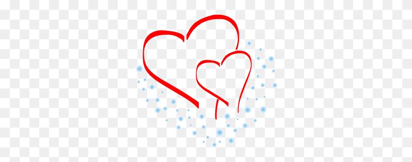 Two Hearts Clip Art Two Heart - Picsart Clipart