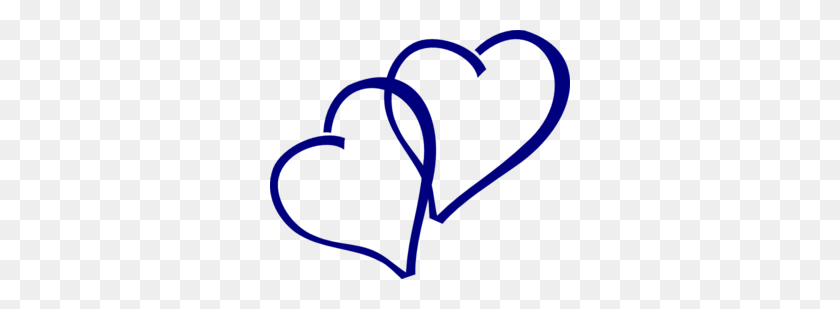 Two Hearts Clipart Blue Bigking Keywords And Pictures - Two Hearts Clipart