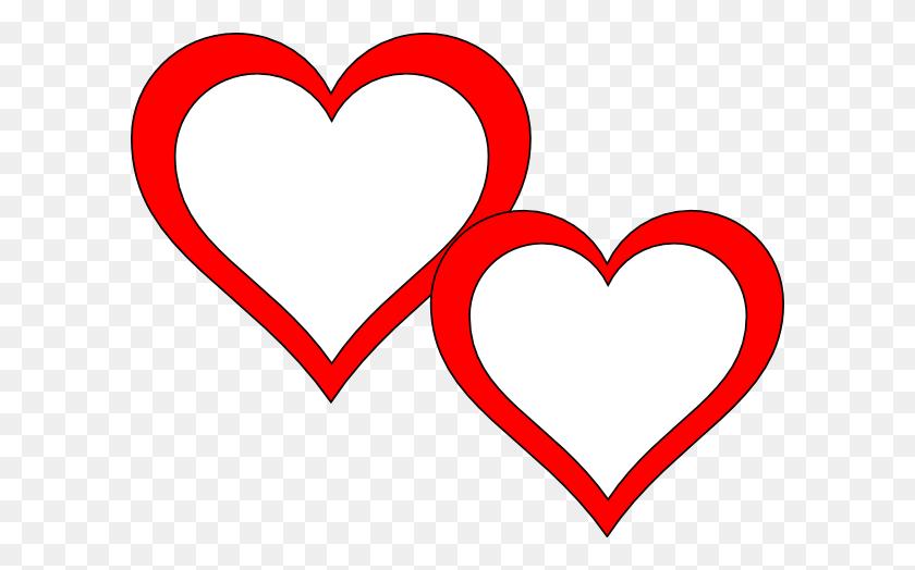 600x464 Two Hearts Touching Clip Art - No Touching Clipart