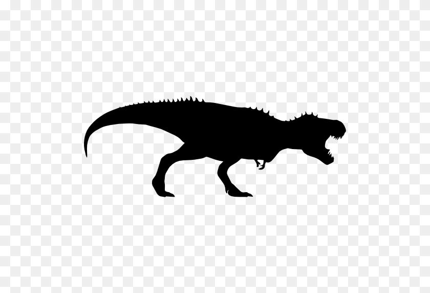 Tyrannosaurus Rex Dinosaur Silhouette - T Rex PNG