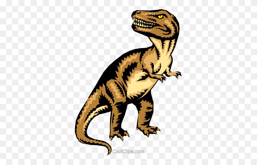349x480 Tyrannosaurus Rex Royalty Free Vector Clip Art Illustration - T Rex PNG