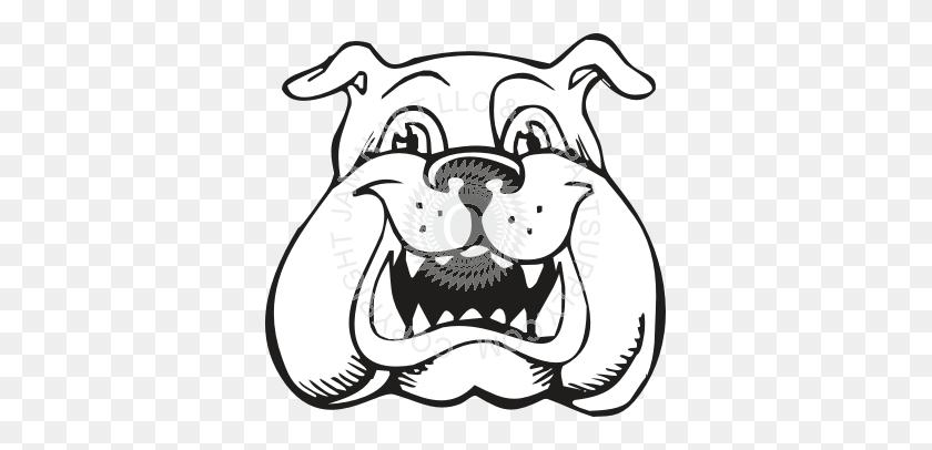 Uga Bulldog Cartoon Drawing - Uga Clipart