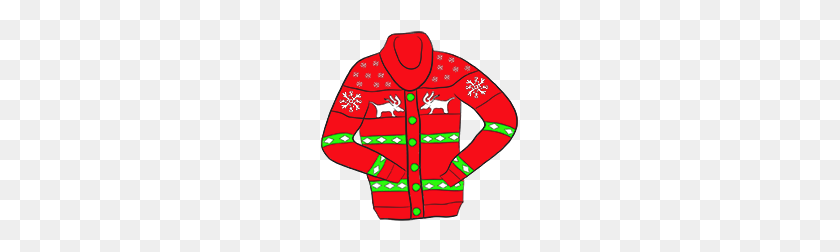 Ugly Christmas Sweater Clipart Look At Ugly Christmas Sweater - Ugly Sweater Clipart