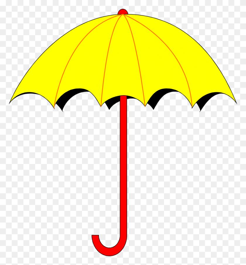958x1039 Umbrella Clipart Free To Print Clip Art - Free Clipart To Print