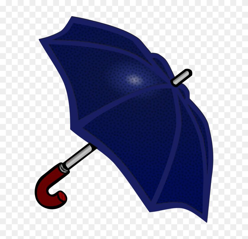 654x750 Umbrella Rain Computer Icons Blue Raster Graphics - Umbrella And Rain Clipart