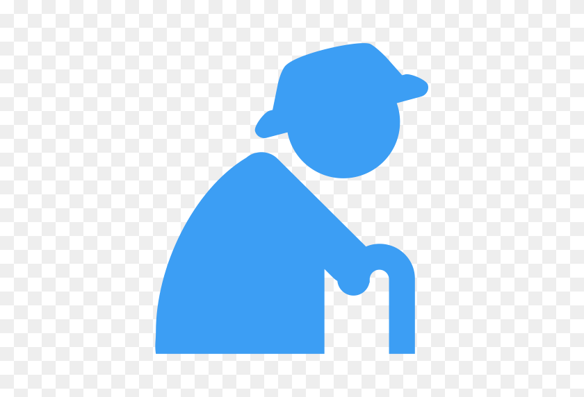 Unfolding Old People, Old, Phone Icon With Png And Vector Format - Old People PNG