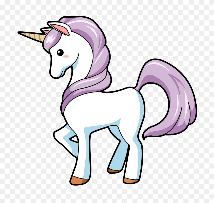 Unicorn Unicorn, Unicorn - Party Horn Clipart