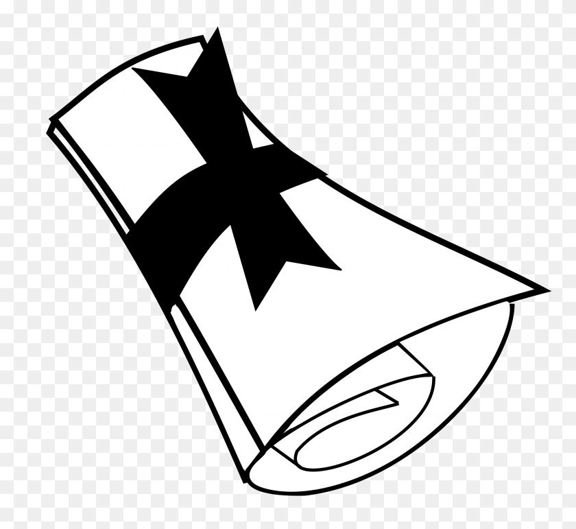 University Clip Art Diploma Clipart University Clipart - Paper Clipart Black And White