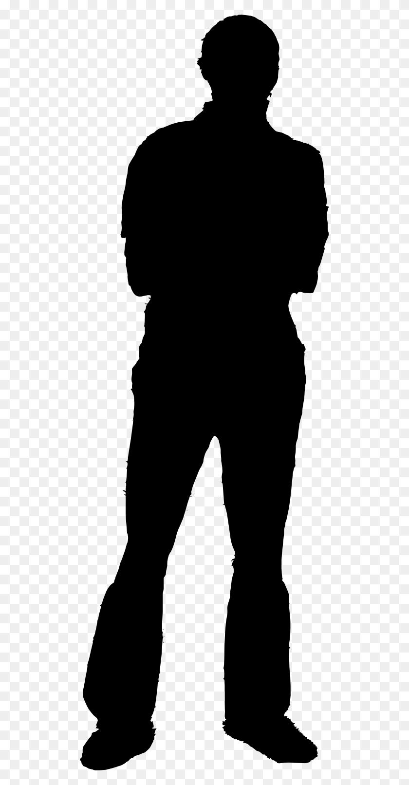 Unknown Clipart Person Silhouette - Person Clipart Black And White