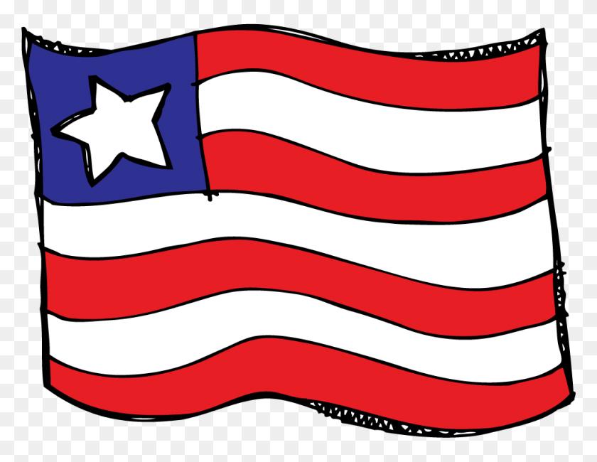 Us Flag Clipart Melonheadz - Us Flag Clipart