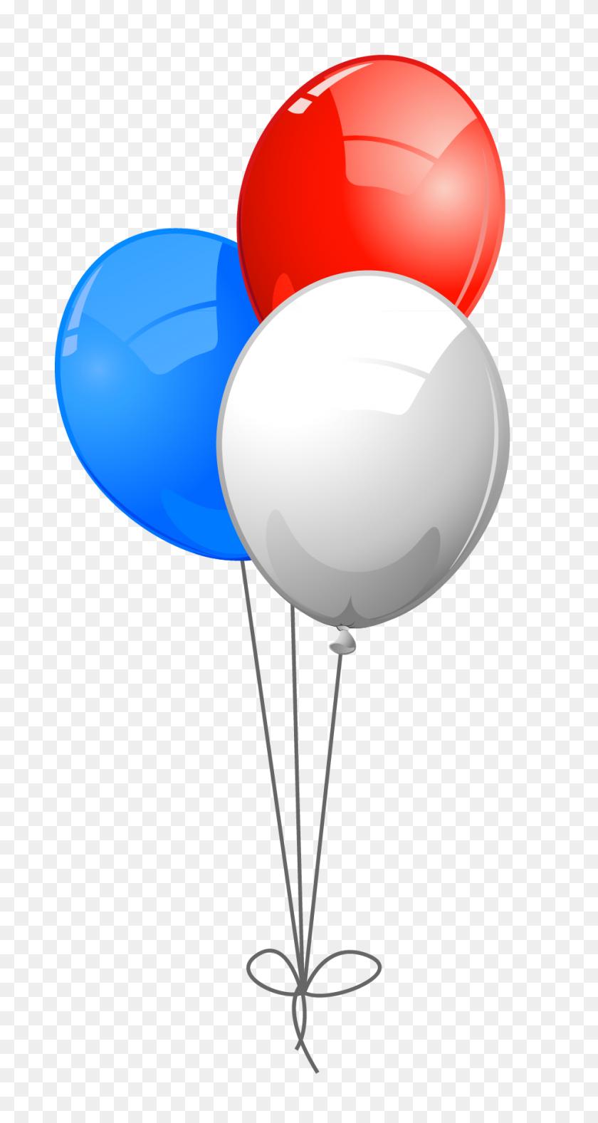 Usa Colors Balloons Png - Usa Clipart