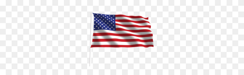 Waving American Flag Clip Art Png Png Image - American Flag
