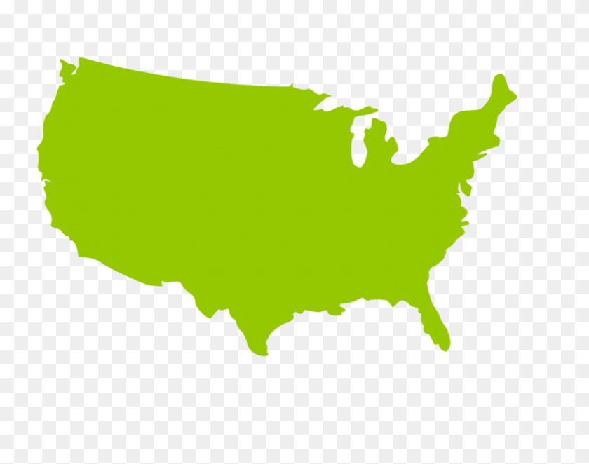 United States Map Computer Icons Blue White - Us Map Clipart ...