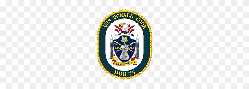 Ussdonaldcookcrest U S Naval Forces Europe Africa U S - Us Navy PNG