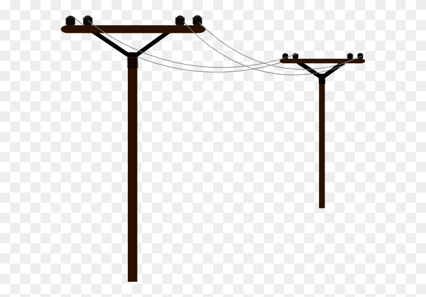 Utility Pole Clipart - Basketball And Hoop Clipart