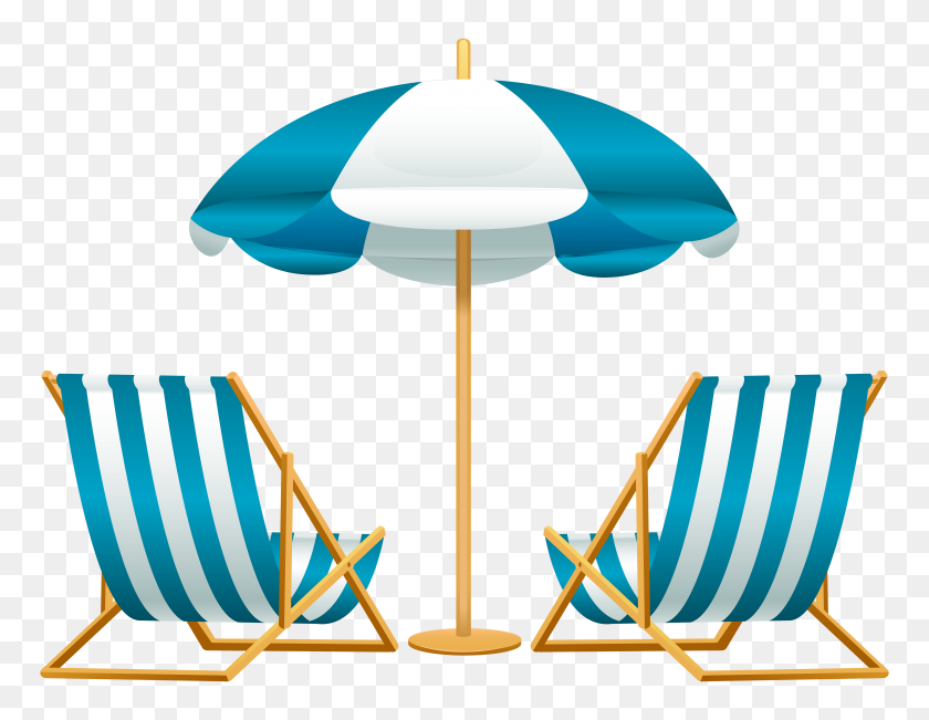Vacation Clipart Beah - On Vacation Clipart