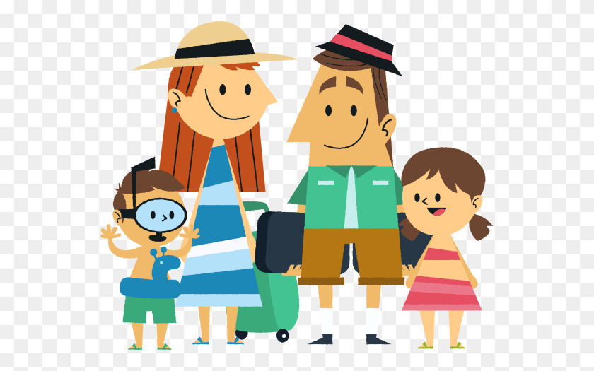 Vacation Clipart Family Travel - On Vacation Clipart