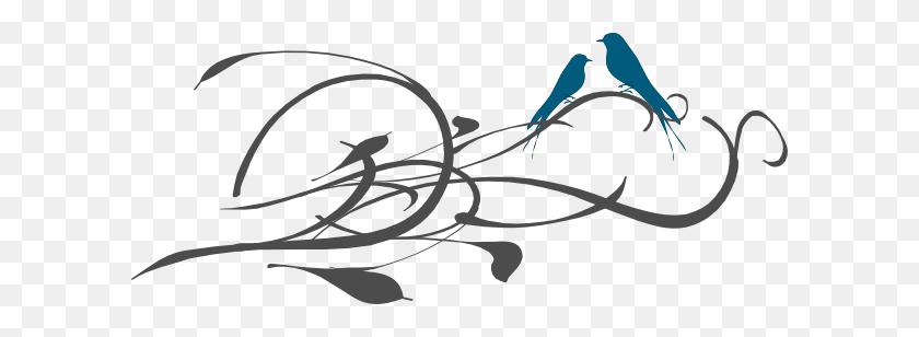 Valentine Love Birds Clip Art Valentine Love Birds Image Image - X Clipart
