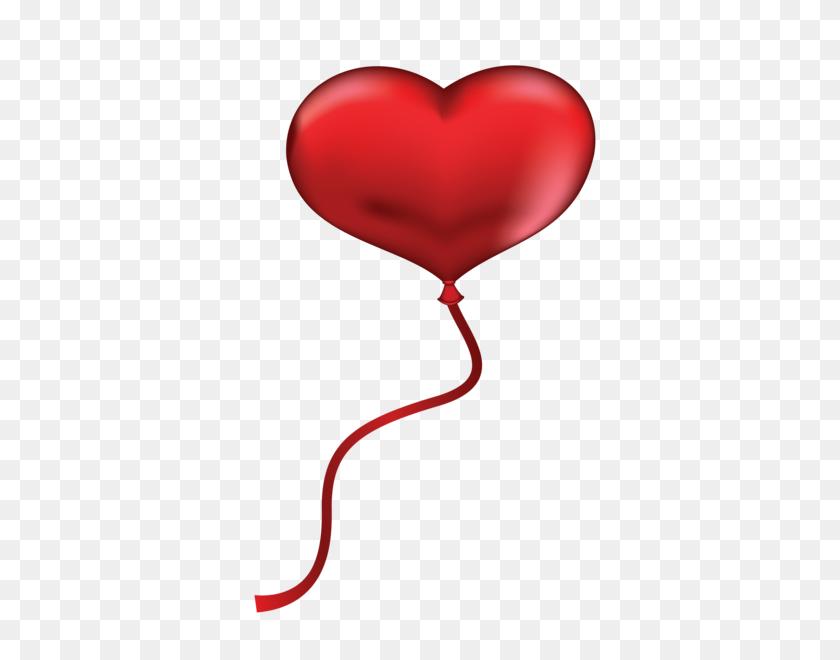 Valentine Love Heart Balloons - Valentine Heart PNG