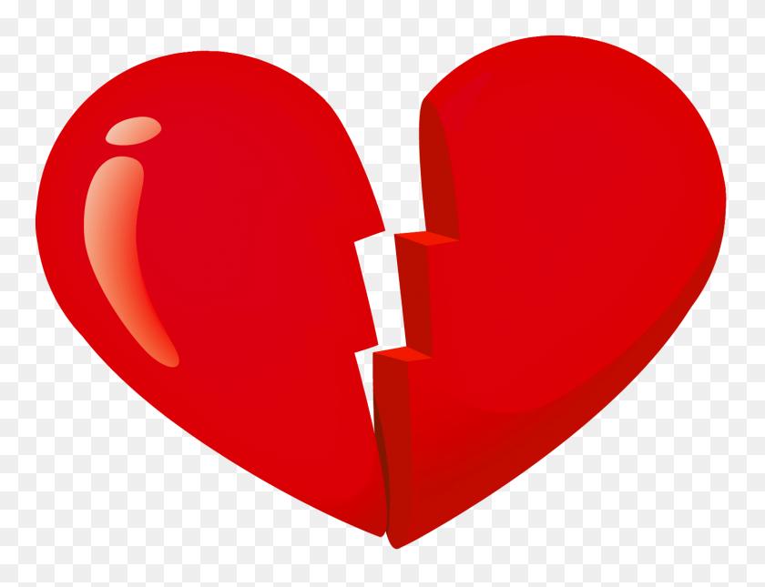 Valentine Red Broken Heart Png - Broken Window Clipart