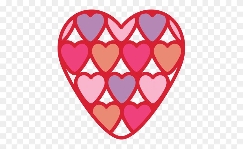 456x456 Valentine's Clip Art - S Clipart