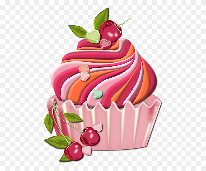 Valentine's Day Cupcake Clip Art Clip Art - Pyramid Clipart