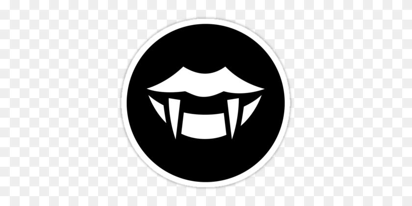 Vampire Fangs Ideology' Sticker - Vampire Fangs Clipart