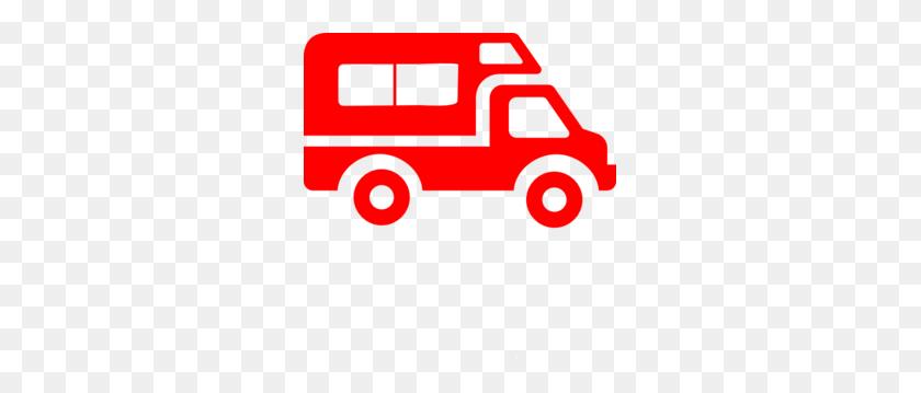 Van Clip Art - Mail Truck Clipart
