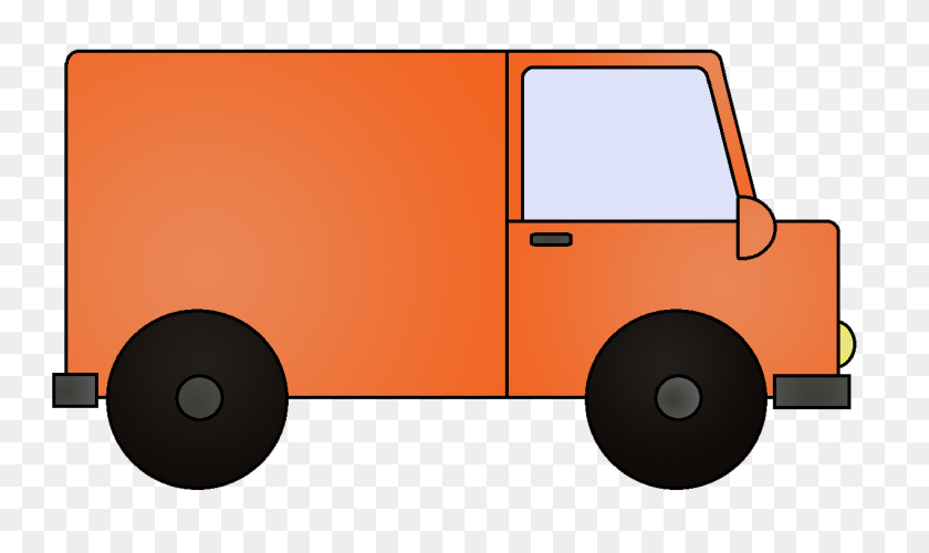 Van Cliparts Cartoon - Vw Van Clipart