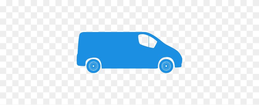 Vans Clipart Blue Van - Vw Van Clipart