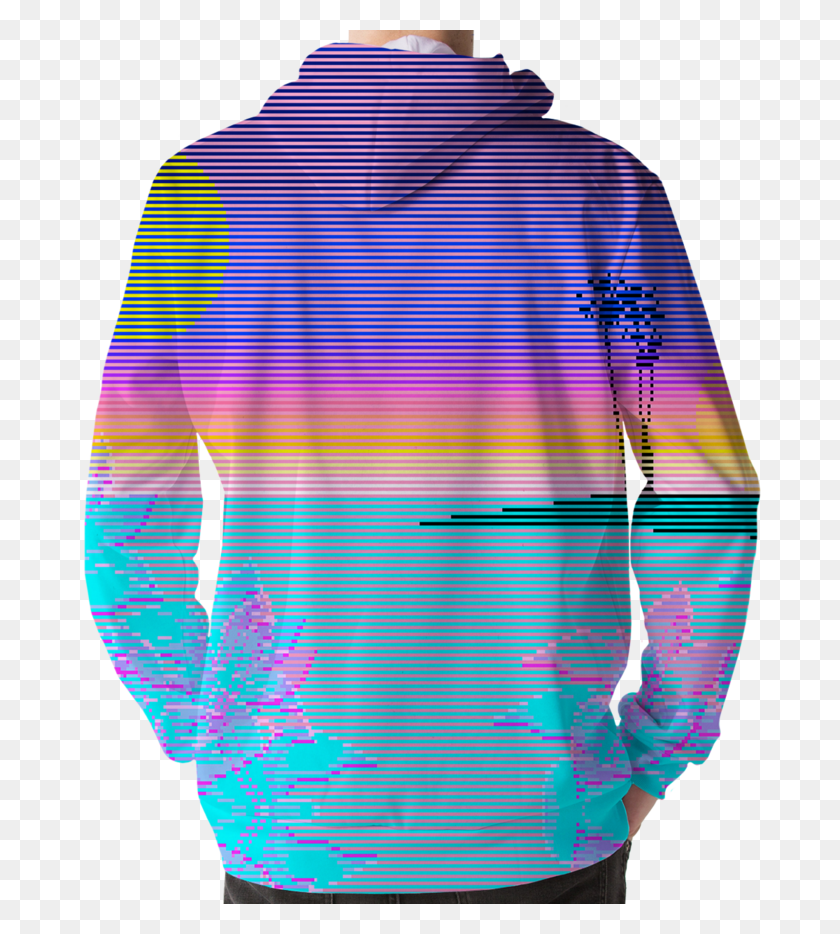 Vaporwave Aesthetic Clothing Full Bloom Hoodie Vaporwave Png Pack