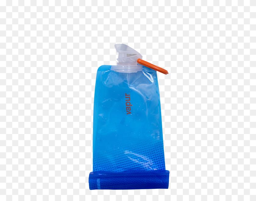 Vapur Reusable Water Bottle Flexible Water Bottle - Bottle PNG