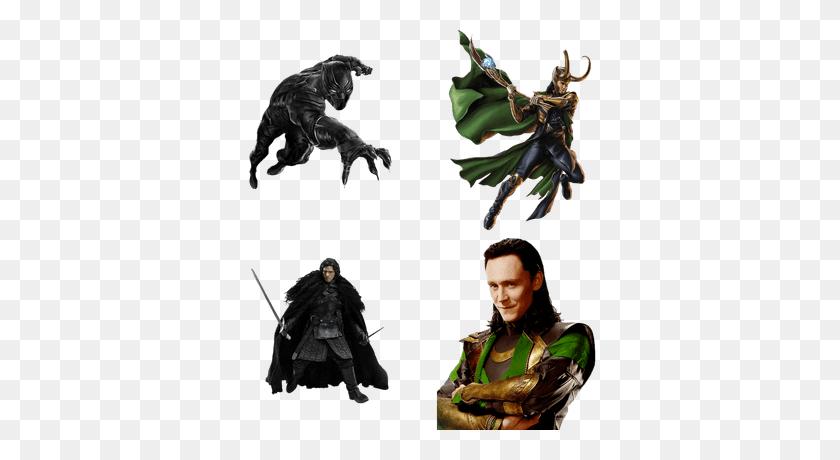 Various Comics Transparent Png Images - Loki PNG