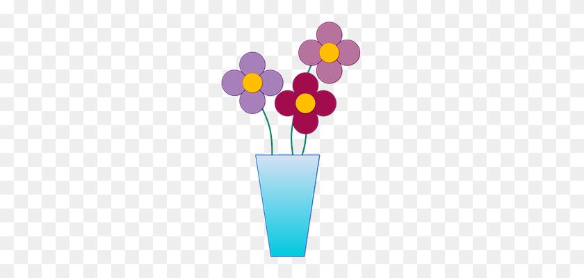 Vase Clipart Flower - Vase Clipart