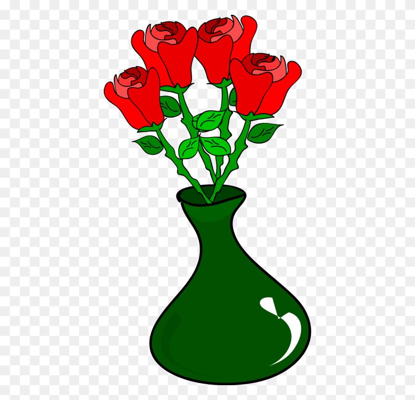 220 & Vase Rose Drawing Flower Bouquet Download - Flower Vase PNG ...