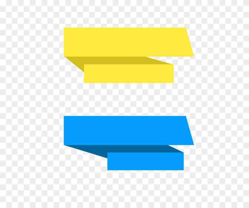 Vector Banner Ribbon Design Template, Vector Banner Ribbon - Template PNG