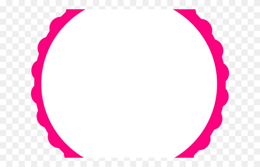 Vector Frame Clipart Scalloped Frame - Scalloped Frame Clipart