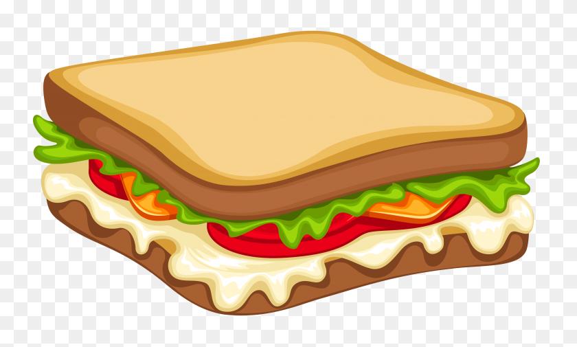 Veg Sandwich Clipart Clipart Best - Wok Clipart