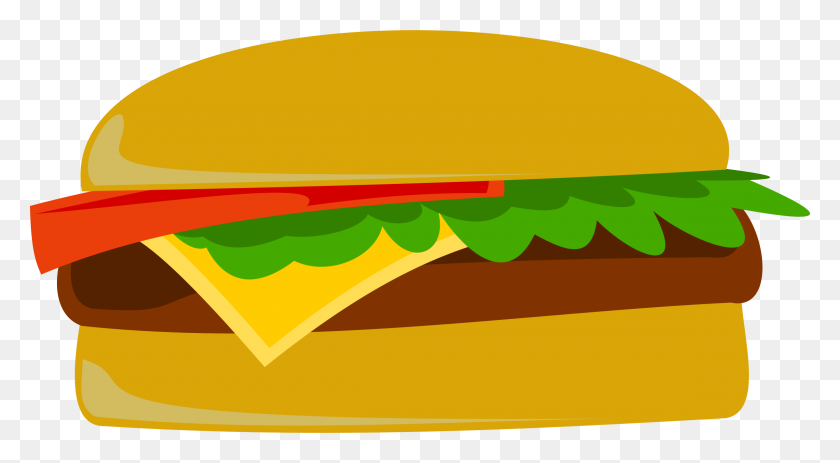 Veggie Burger Clipart Pickle Slice - Bbq Chicken Clipart