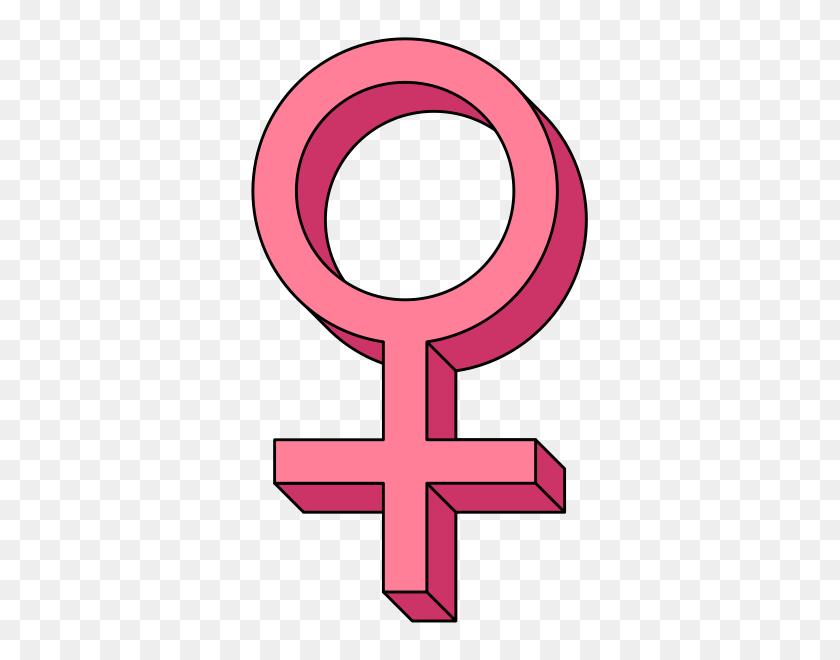 Venus Female Symbol Pseudo Pink - Venus Clipart